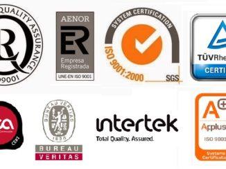certificadores ISO